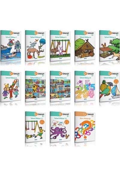 6+ Yaş Zekare Smart İşitsel Dikkat Seti (13 Kitap + 1 Kontrol Paneli)