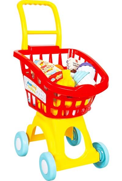 Mgs Oyuncak Role Play Alışveriş Arabası Demonte Kutulu