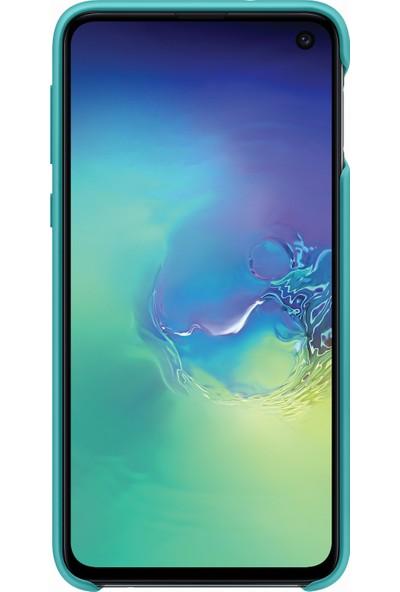 Samsung S10e Silicone Cover (Yeşil)-EF-PG970TGEGWW