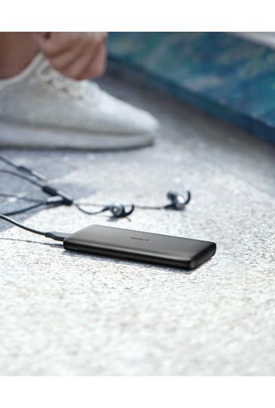 Anker PowerCore Lite 10000 mAh Taşınabilir Şarj Aleti Powerbank - USB-C (Sadece Giriş) -Siyah -A1232H11- OFP