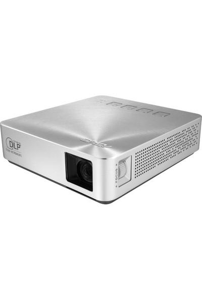 ASUS S1 200 Lümen LED 854x480 1000:1 HDMI/MHL Taşınabilir Projeksiyon Cihazı