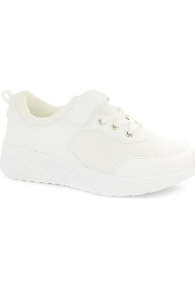 Rolax 2300 Unisex Çocuk Beyaz Spor Ayakkabı