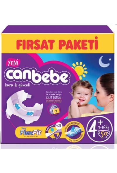 Canbebe Fırsat Paketi (4+ Numara) 9-16 kg Paket İçi 50 Adet