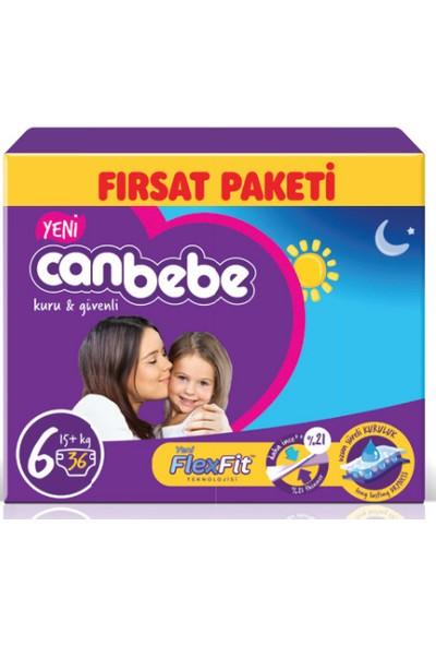 Canbebe Fırsat Paketi (6 Numara) 15+ kg Paket İçi 36 Adet