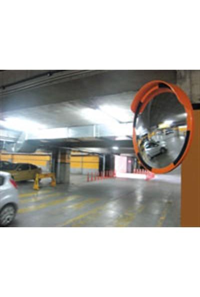Evelux Trafik Güvenlik Aynası 60 Cm Beyaz-Kırmızı