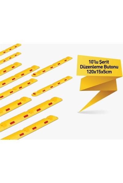Evelux 10`Lu Şerit Düzenleme Butonu 120X15X5 Cm
