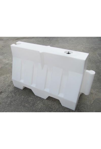Polmersan Yol Bariyeri Beyaz 120 X 80 X 50 Cm