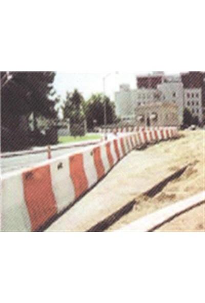 Polmersan Yol Bariyeri Beyaz 150 X 50 X 50 Cm