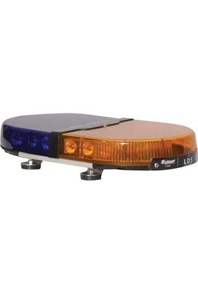 Lds Mini Tepe Lambası Expert E-1151 Sarı-Mavi