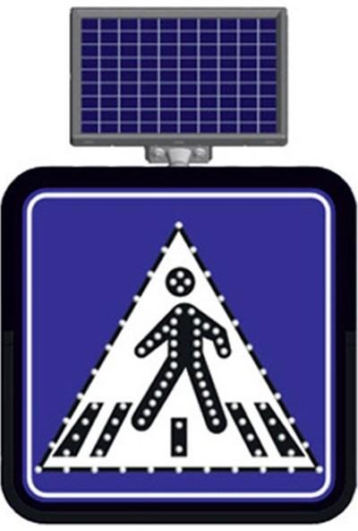 Evelux Güneş Enerjili Yaya Geçidi Levhası 60 X 60 Cm