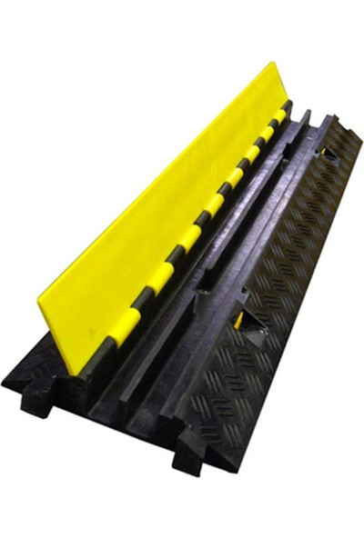 Mfk Plastik Kablo Kanallı Hız Kesici Pvc 2 Kanallı 25 X 100 X 4,5 Cm