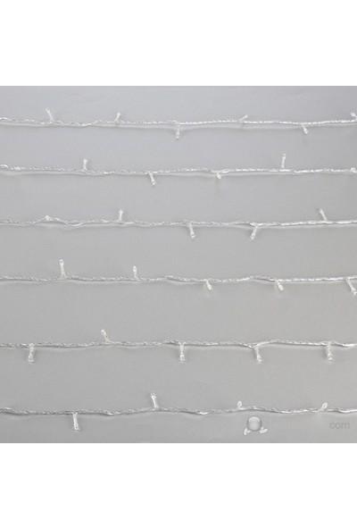 10Mt Led Eklenmeli Yılbaşı Süsü Beyaz