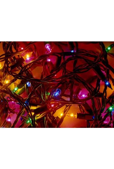 Wildlebend 40 Ledli Pirinç Renkli Yılbaşı Ağacı Işığı