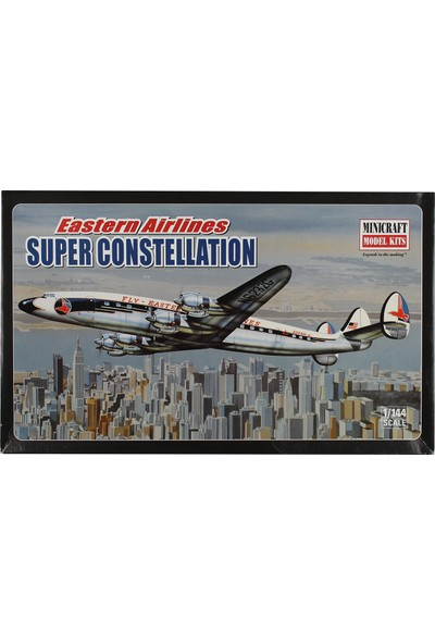 Minicraft 1/144 Eastern Airlines Super Constellation Yolcu Uçağı Maketi