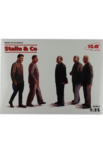 ICM 1/35 Stalin & Co Figür Maketi