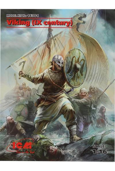 ICM 1/16 Viking (IX century) Figür Maketi