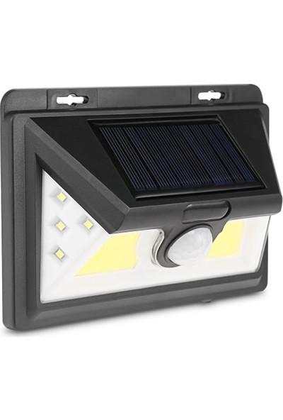 Twinix Bahçe Aydınlatma 52 Ledli Solar Sarı Aydınlatma