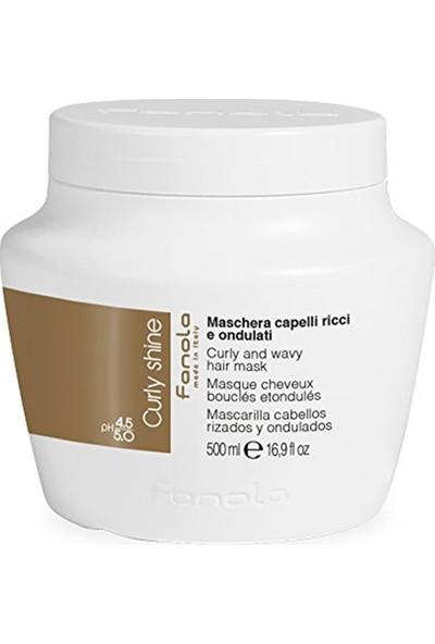 Fanola Curly shine Saç Maskesi 500ml