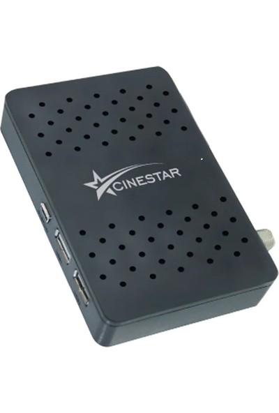 Cinestar Full Hd Çift Usb'Li Mini Hd Uydu Alıcısı TKGS