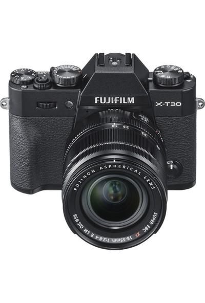 Fujifilm X-T30 ( Siyah ) + XF 18-55mm F/2.8-4 R LM OIS Lens Kit