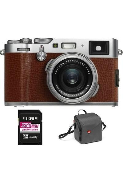 Fujifilm X100F Kit ( Kahve )