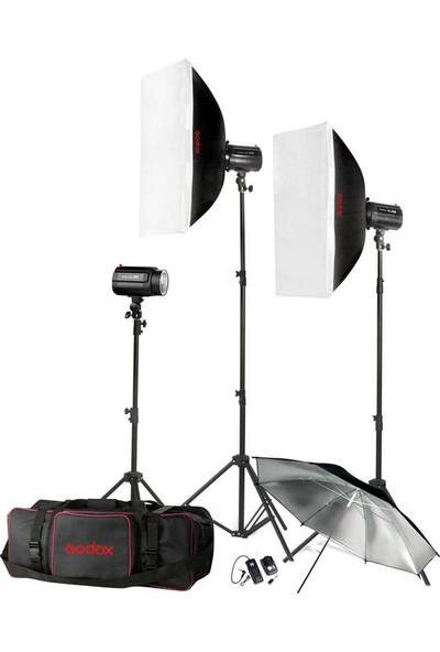 Godox H160-B 3lü Mini Paraflaş Kit ( 160 Watt )