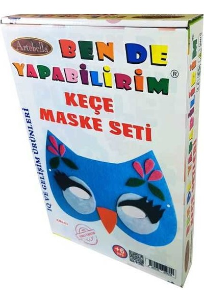 Artebella Keçe Maske Seti Ksm-03