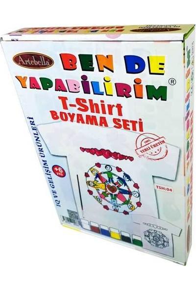 Artebella T-Shirt Boyama Seti Tsh-04