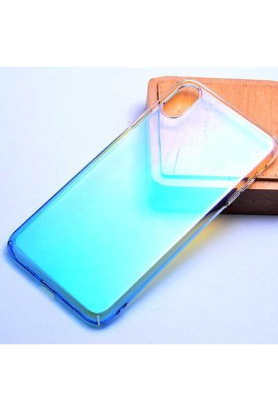 724kitapal Apple iPhone XS 5.8 Kılıf Zore Renkli Transparan Kapak