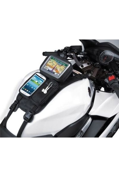 Motospartan Depo Üstü Çanta Navigasyon + Telefon Kilifli Çok Amaçlı Forte Gt70650