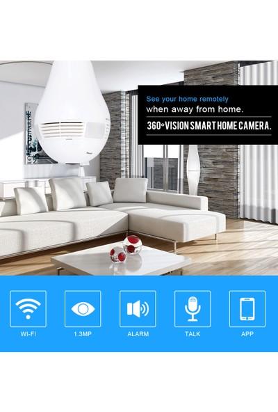 twinix Ampul IP Kamera 1.3Mp Gece Görüşlü Güvenlik Kamerası