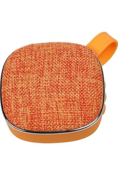 twinix Bluetooth Hoparlör Kumaş Desenli- Radıo- Taşınabilir