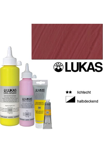 Lukas Studio Akrilik Boya Terracota 250Ml