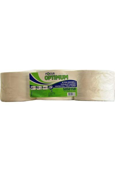 Focus Optimum İçten Çekmeli Jumbo Tuvalet Kağıdı 6 Rulo