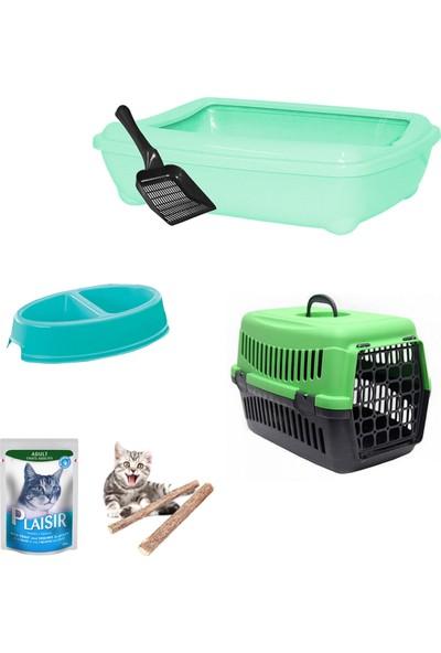 Petfony Açık Kedi Tuvaleti,Kedi Taşıma Çantası,Catnip,Mama Kabı