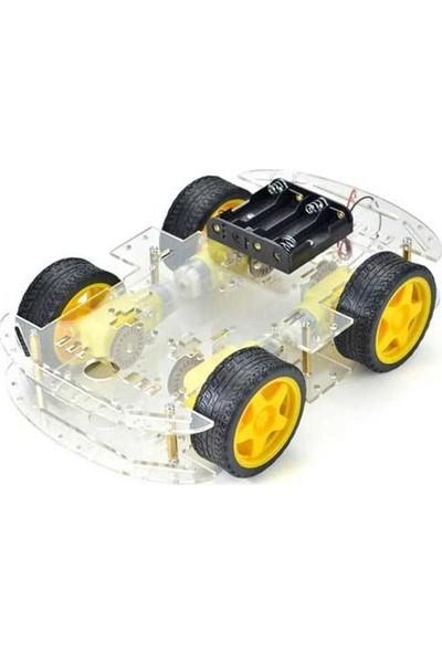 Arduino Robot Araba Platformu 4Wd