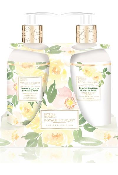 Baylis & Harding Royal Bouquet Limon Çiçeği Ve Beyaz Gül Özlü 2'li Set