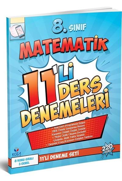8. Sınıf Matematik 11'li Deneme Seti