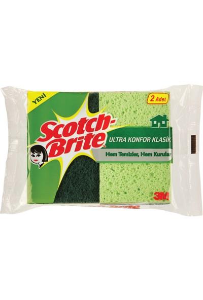 Scotch Brite Ultra Konfor Klasik Sünger 2'Lİ