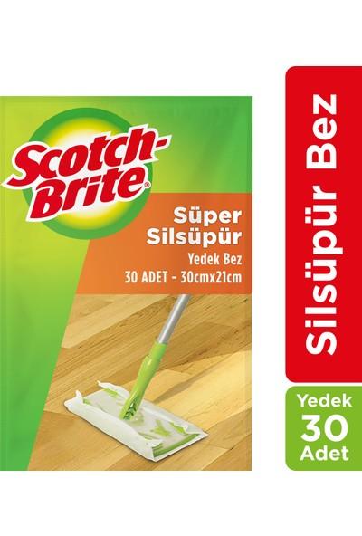 Scotch Brite Sİlsüpür Paspas Q600 Yedek Bez (30 Adet)