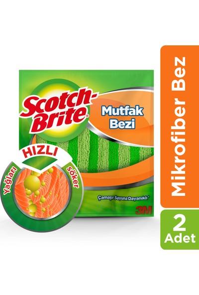 Scotch Brite Mikrofiber Mutfak Bezi 2'li Ekonomik Paket