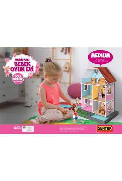Bialdım Mobilyalı Bebek Oyun Evi - Medium