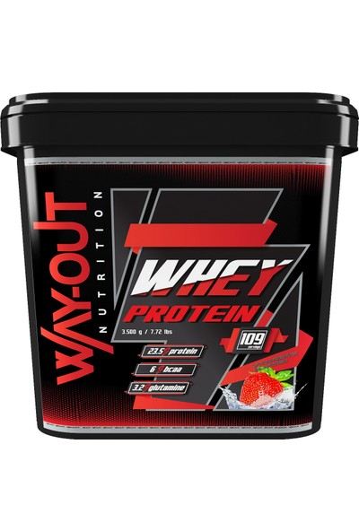 Way Out Nutrition Whey Protein Tozu 3500 Gr Çikolata Aromalı