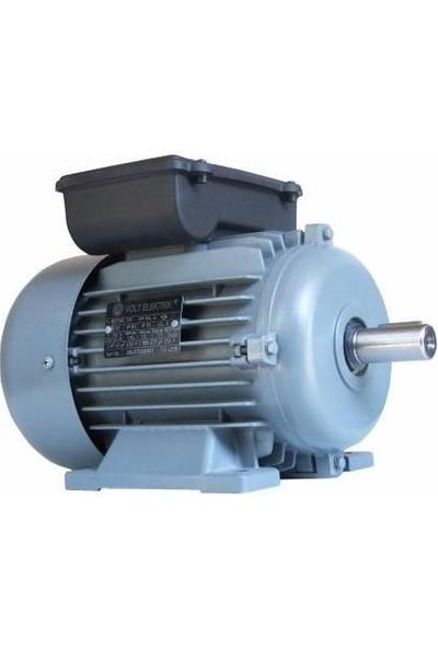 Volt 1 Faz 1500 Devir 075Kw 220V Elektrik Motoru (63 Gövde Redüktör İçin)