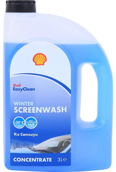 Shell Winter Screenwash Concentrate Cam Suyu 3 Lt
