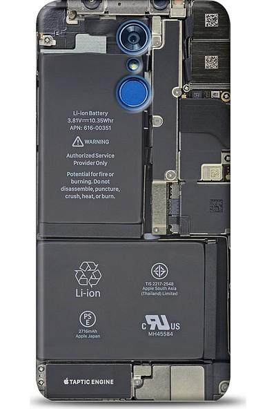 Eiroo LG Q7 Plus Devre Baskılı Tasarım Kılıf