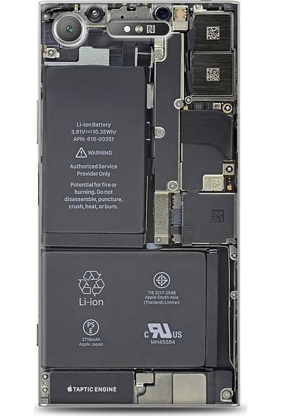 Eiroo Sony Xperia XZ1 Devre Baskılı Tasarım Kılıf