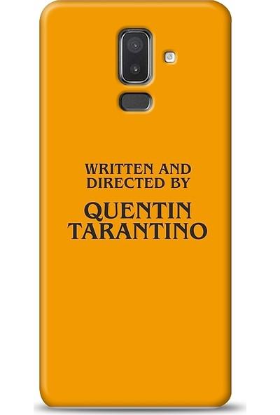 Eiroo Samsung Galaxy J8 Quentin Tarantino Baskılı Tasarım Kılıf