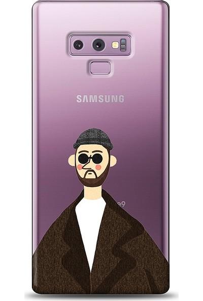 Eiroo Samsung Galaxy Note 9 Leon Baskılı Tasarım Kılıf