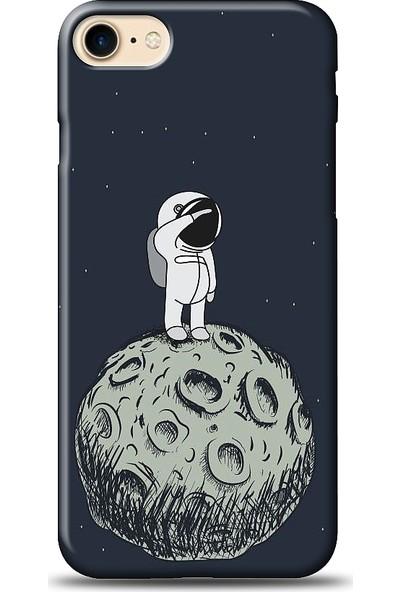 Eiroo Apple iPhone 8 Astronot Baskılı Tasarım Kılıf